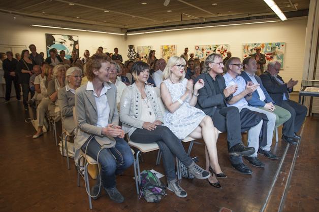 Vernissage der Ausstellung Heiner Meyer 2016