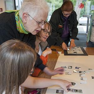 Ingrid Zimmerman beim Workshop