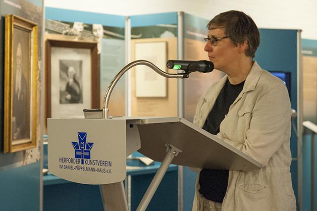 Sonja Langkafel - Leiterin Stadt. Museum