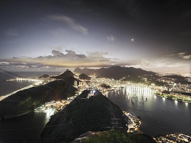 Rio de Janeiro III, 2011 Leuchtkasten ©️ Christian Höhn