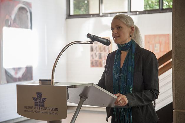 Sarah Heitkemper, Vorsitzende Herforder Kunstverein