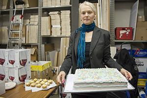 Eine Torte für den 100. Geburtstag
