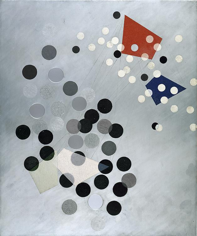 László Moholy-Nagy, Konstruktion AL6, 1933-1934, © IVAM