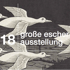 Escher-Plakat © Fries-Museumm