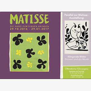 Matisse Ausstellung © Picasso Museum Münster