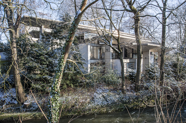 Das Pöppelmannhaus im Winter