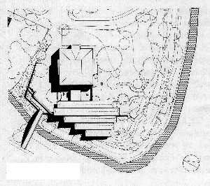 Lageplan von Villa Schönfeld und Pöppelmannhaus