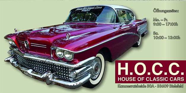 House of classic cars