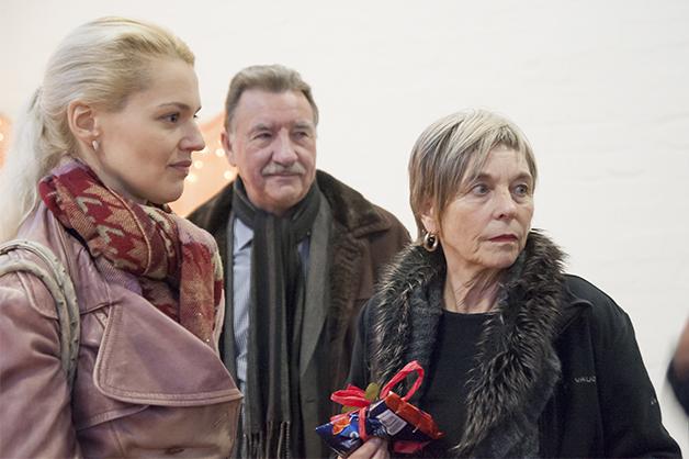 Sarah Heitkemper, Peter Mausolf und Gisela Wäschle (von links nach rechts)