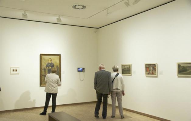 Im Museum © Villa Mondriaan
