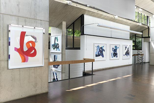 Aatifi Links7 Ausstellung