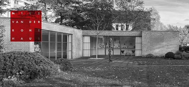 Mies van der Rohe Haus Berlin © M.v.d.R. Haus