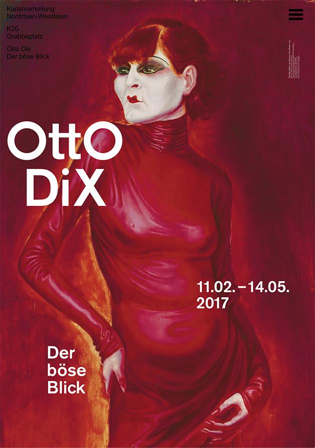 Otto Dix Plakat © Kunstsammlung NRW