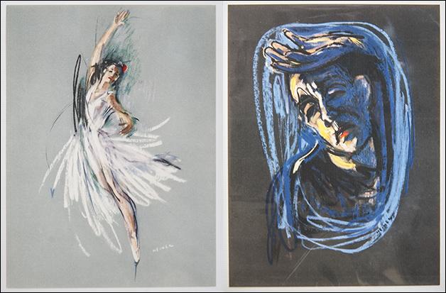 Colette Marchand, Paris 1955 und Roland Petit 19543 © M. Heiner