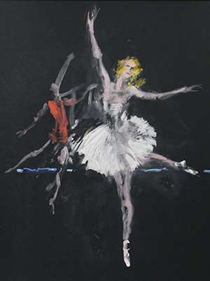 R. Struchkova und A. Lapauri, Bolschoi-Ballett 1959 © M. Heiner