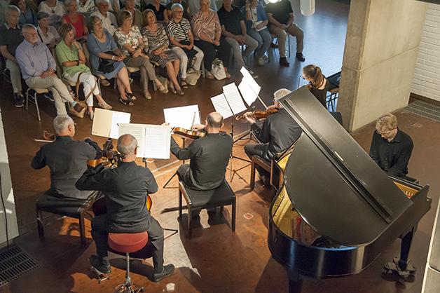 Beim Konzert © F. Kretschmer