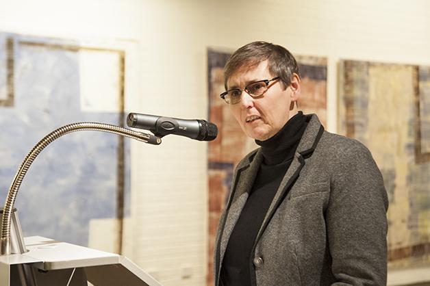 Eröffnung der Ausstellung durch Sonja Langkafel, Leiterin Städt. Museum