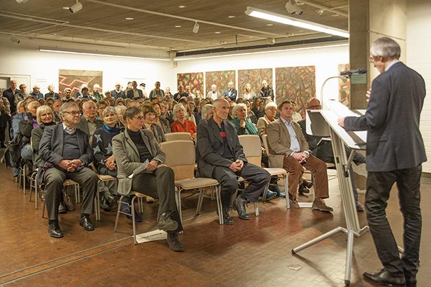 Einführung des Kunstwissenschaftlers Prof. Dr. Franz aus Münster