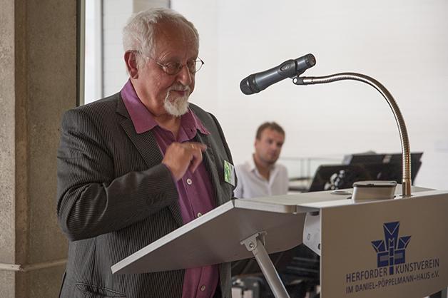 Günter Schulz, Vorsitzender Lippischer Künstlerbund