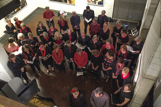 Chor der Musikschule Herford – Foto Philip Dahme