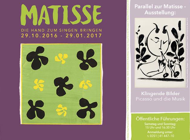 Matisse-Ausstellung © Picasso-Museum