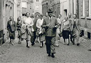 Eine Zeitreise zurück: Der Kunstverein 1958 in Brüssel.