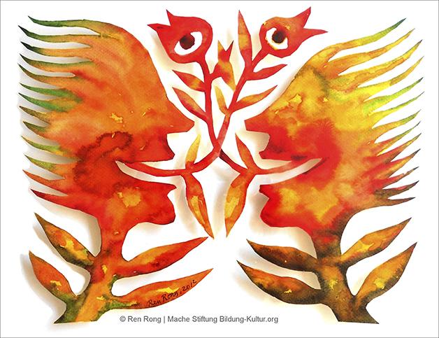 Ren Rong, Pflanzenmenschen © Mache Stiftung