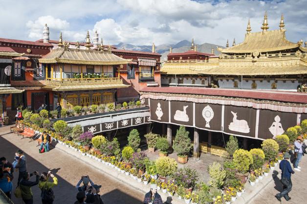Jokhang Tempel in Lhasa