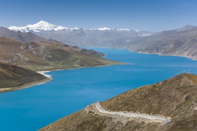 Blick vom Kamba Pass