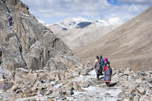 Auf der Kora um den Kailash