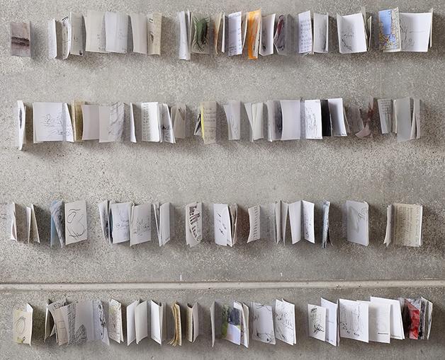 Gisela Wäschle – Installation einer Reise